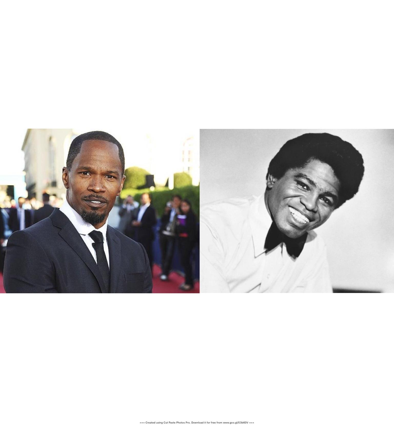 Jamie Foxx (Left) - James Brown (right)